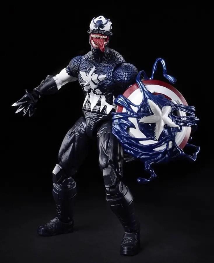 Hasbro teases Venomized Marvel Legends ahead of Toy Fair