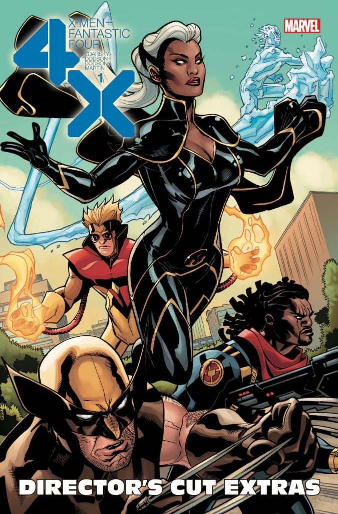 X-Men First Look: X-Men + Fantastic Four #1 getting digital director's cut