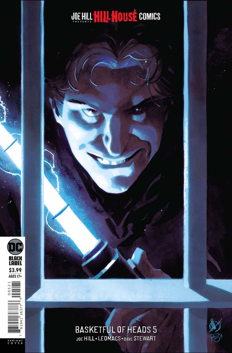 DC Preview: Basketful of Heads #5