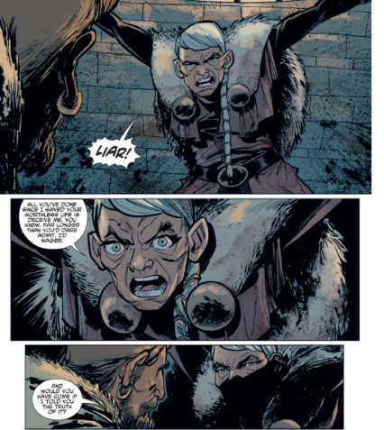 This is the issue that drives home the loss and anguish inherent in this fantasy series.