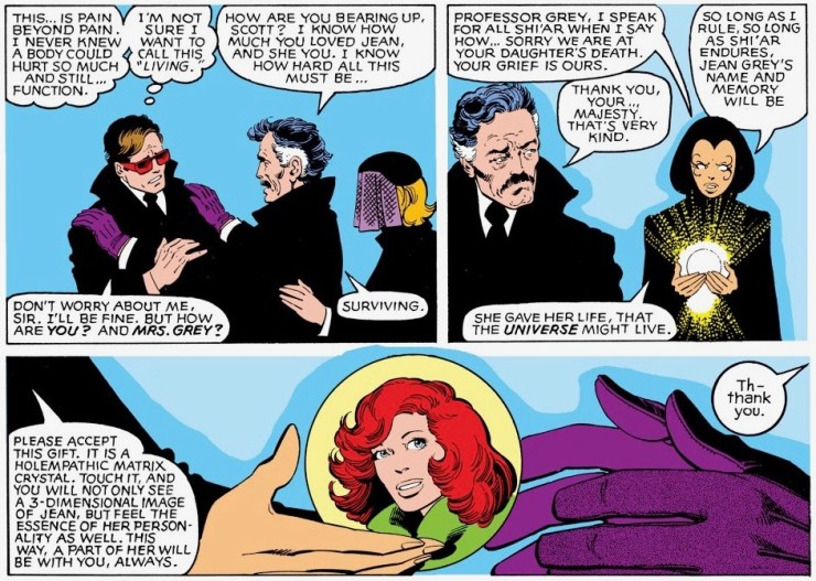 'It was literally a fannish game.' Kurt Busiek explains how he helped resurrect Jean Grey