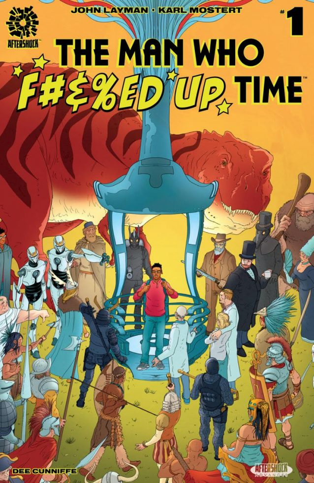 'The Man Who Effed Up Time' #1 review: Stumbling into the timestream