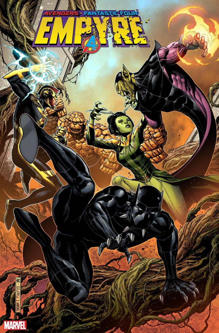 Marvel's Pull List unveils exclusive previews of 'Empyre' tie-ins