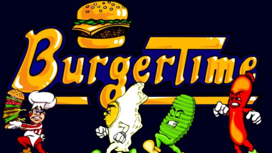 BurgerTime Arcade1up arcade game review