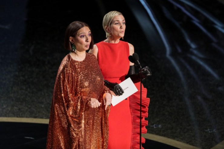 For one night only, the Oscars got it right