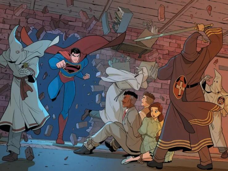 DC Preview: Superman Smashes The Klan #3