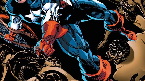 See Cap act the leader, turn into Capwolf, and fight alongside the Punisher.