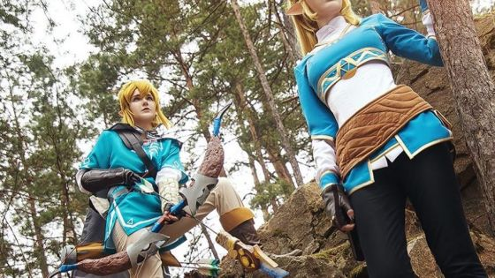 Legend of Zelda: Breath of the Wild cosplay by milky_penguin
