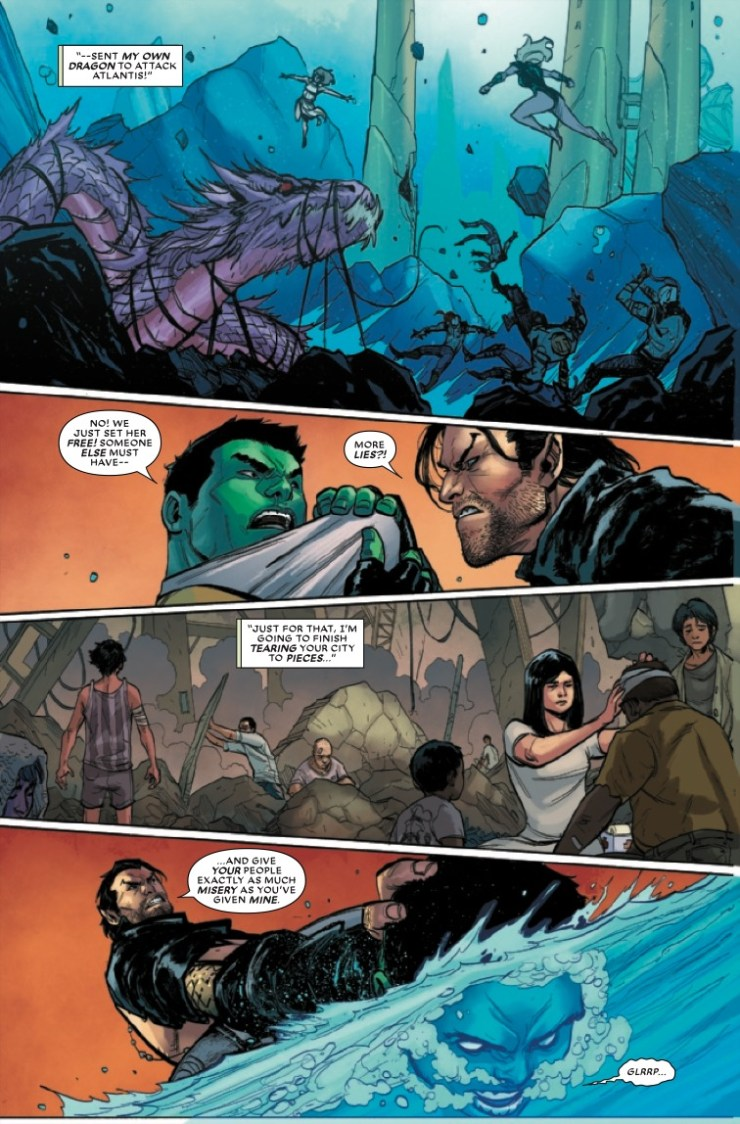 Marvel Preview: Atlantis Attacks #3