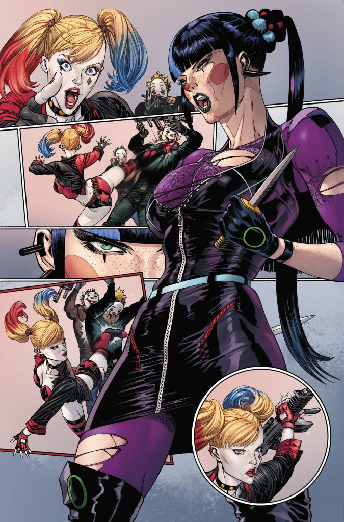 """DC Comics First Look: Batman #93 features Harley vs. Punchline on the road to """"The Joker War"""""""