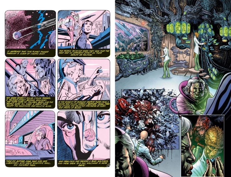 The Green Lantern S2 #1 Annotations: The Return