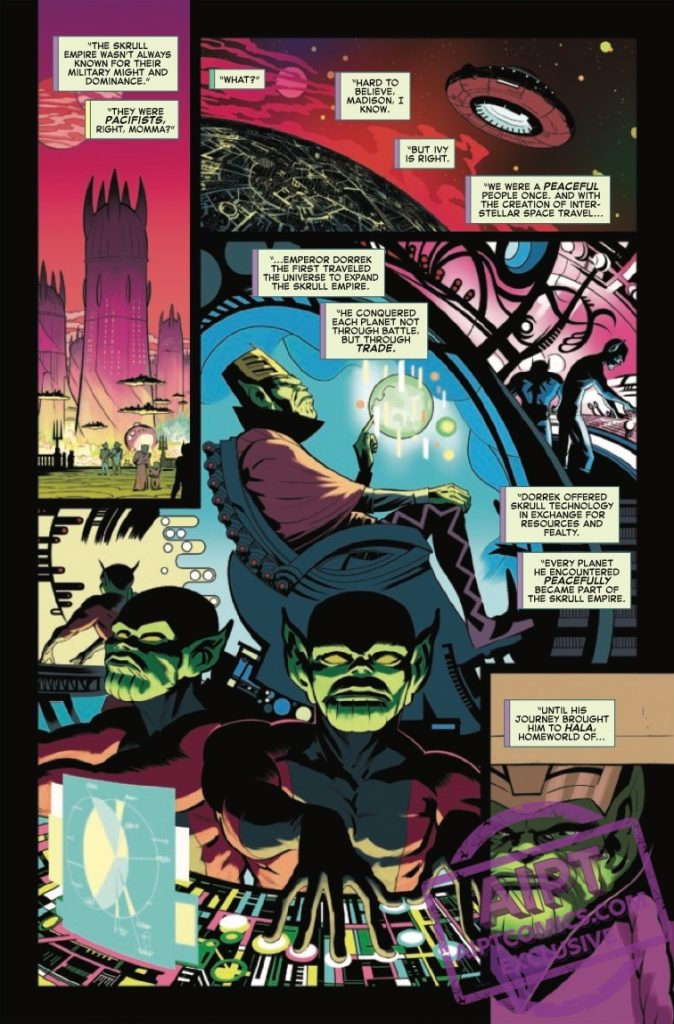 EXCLUSIVE Marvel Preview: Road To Empyre: The Kree/Skrull War #1