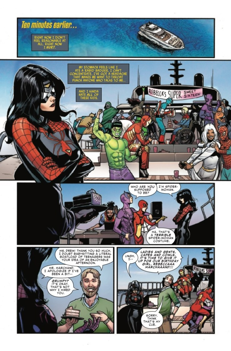 spider-woman bad blood
