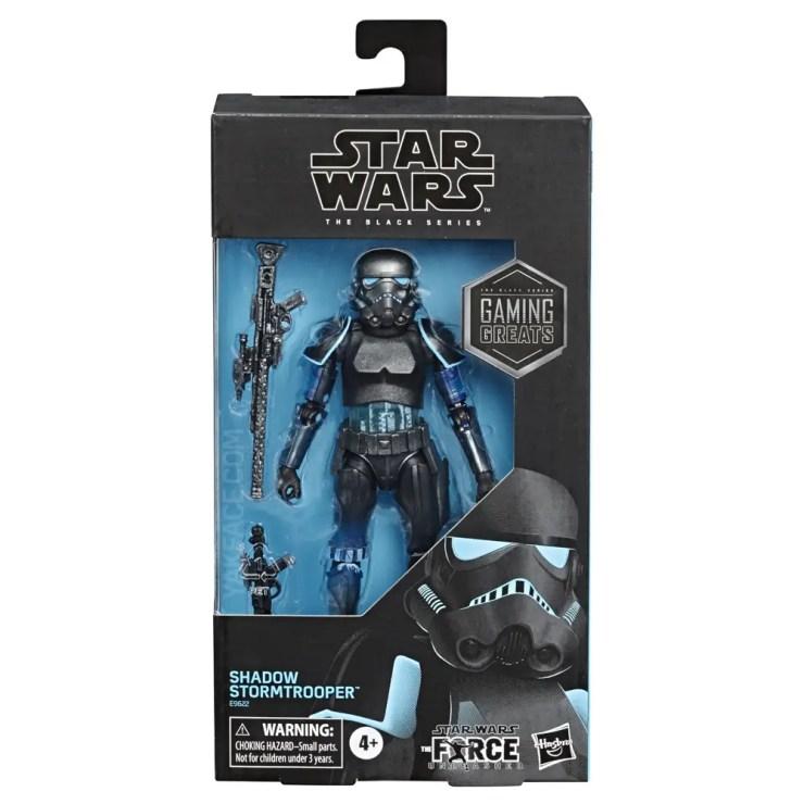 Black Series Shadow Stormtrooper revealed