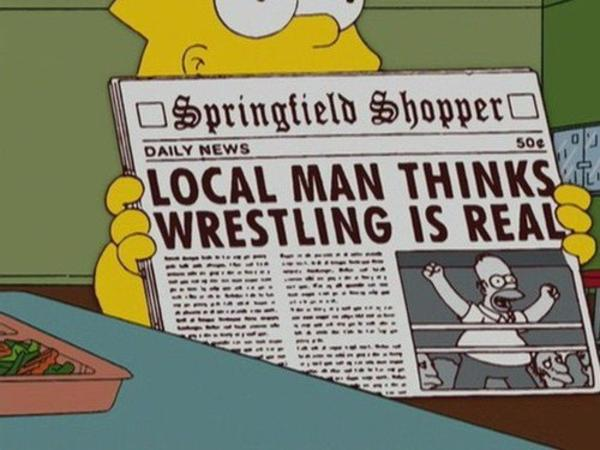 There is nothing quite like professional wrestling