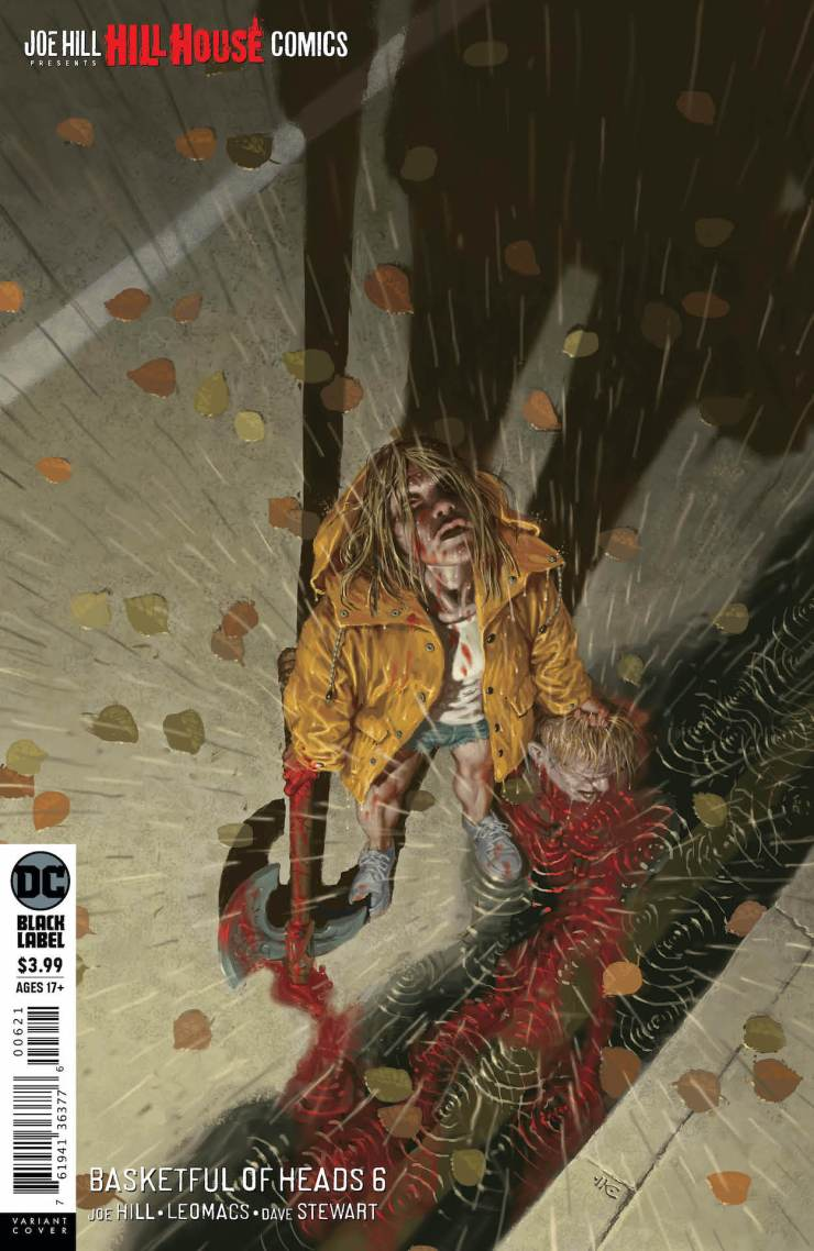 DC Preview: Basketful of Heads #6