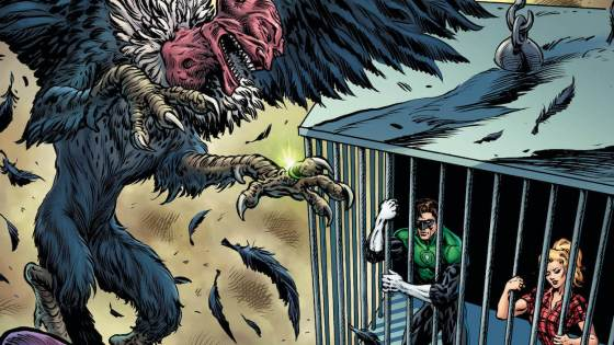 Hal Jordan is stuck on the worst possible planet he can imagine: Earth!