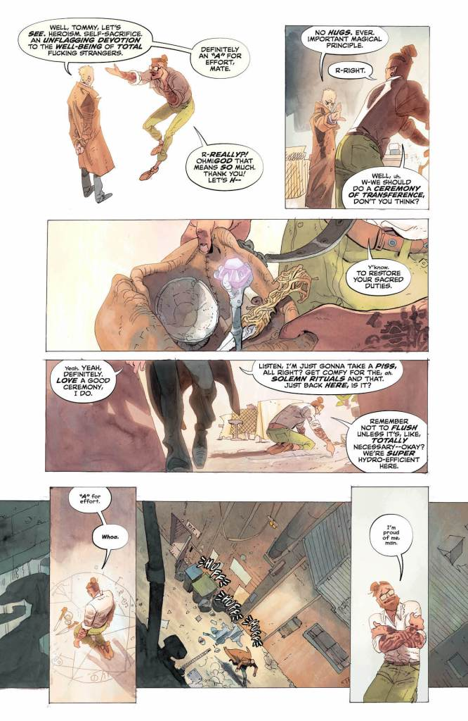 DC Preview: John Constantine: Hellblazer #5