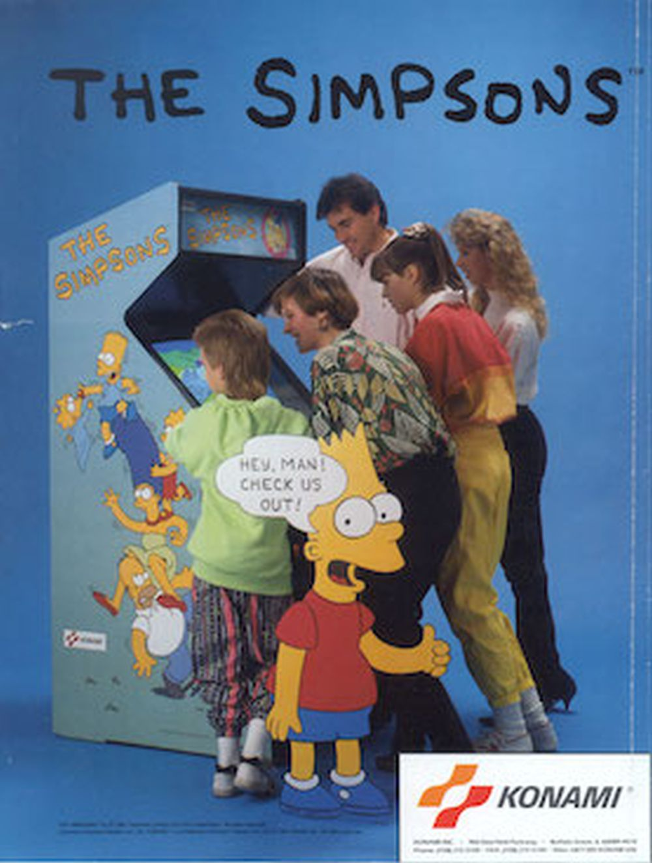 Retro Review: The Simpsons arcade game