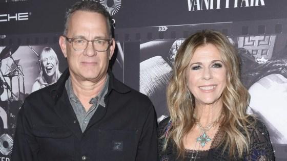 Tom Hanks announces he and Rita Wilson have coronavirus