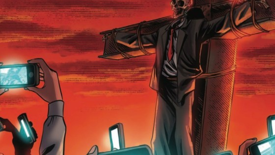 Ahead of the TPB (due out April 8), the author-journalist details his modern horror thriller.