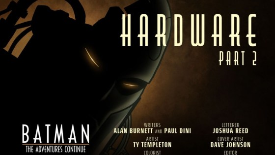 """Batman takes the fight to Lex Luthor in Part 2 of """"Hardware!"""""""