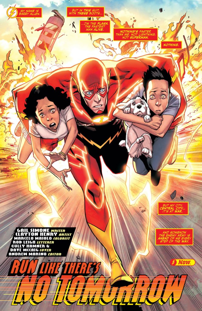 DC Preview: Flash: Fastest Man Alive #2