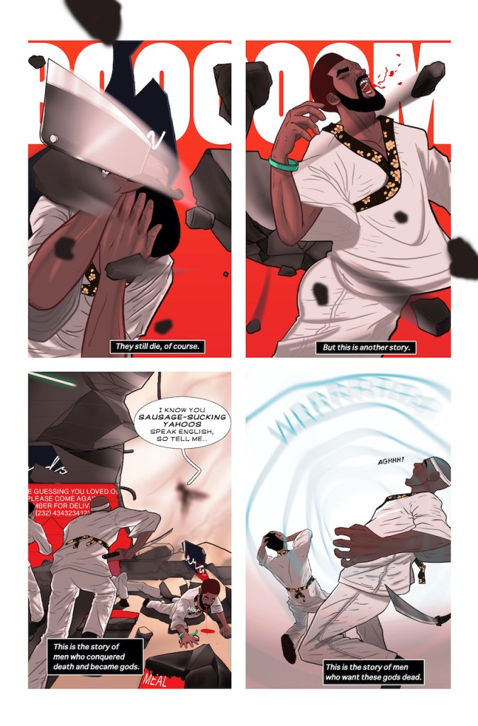 Action Lab Preview: New-Men #1