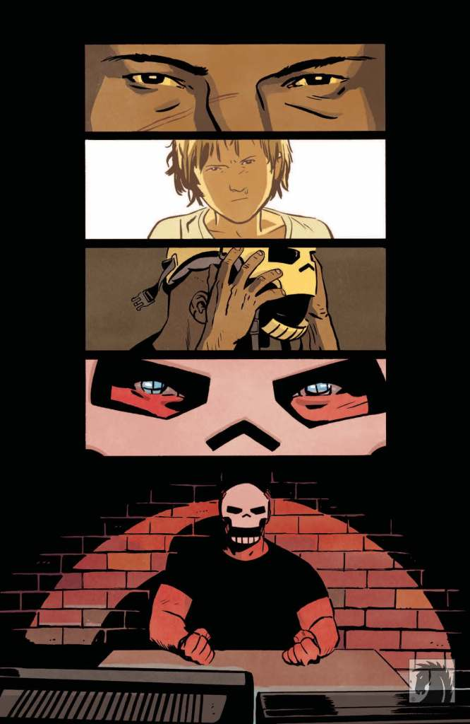 Read the first issue of Skulldigger + Skeleton Boy comic for free