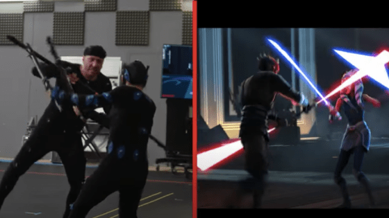 A look a the process behind the best lightsaber fight in Star Wars history.