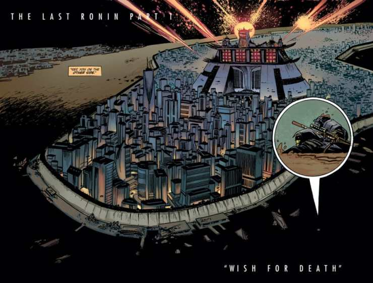 IDW Preview: 'Teenage Mutant Ninja Turtles: The Last Ronin' by Eastman & Laird