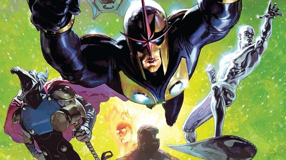 Joe Quesada was hesitant to green-light the original Annihilation, Keith Giffen's sweeping space opera that solidified Annihilus as a top tier threat and molded Richard Ryder's Nova into the universe's greatest hero. He thought the whole thing taking place off-Earth made it unrelatable, and nobody would care. Just like that huge flop from the '70s no one remembers; I think it was called Star Wars or something.