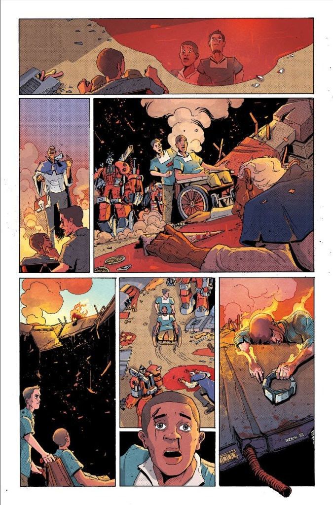 Vault Comics First Look: New series 'Giga' by Alex Paknadel and John Lé