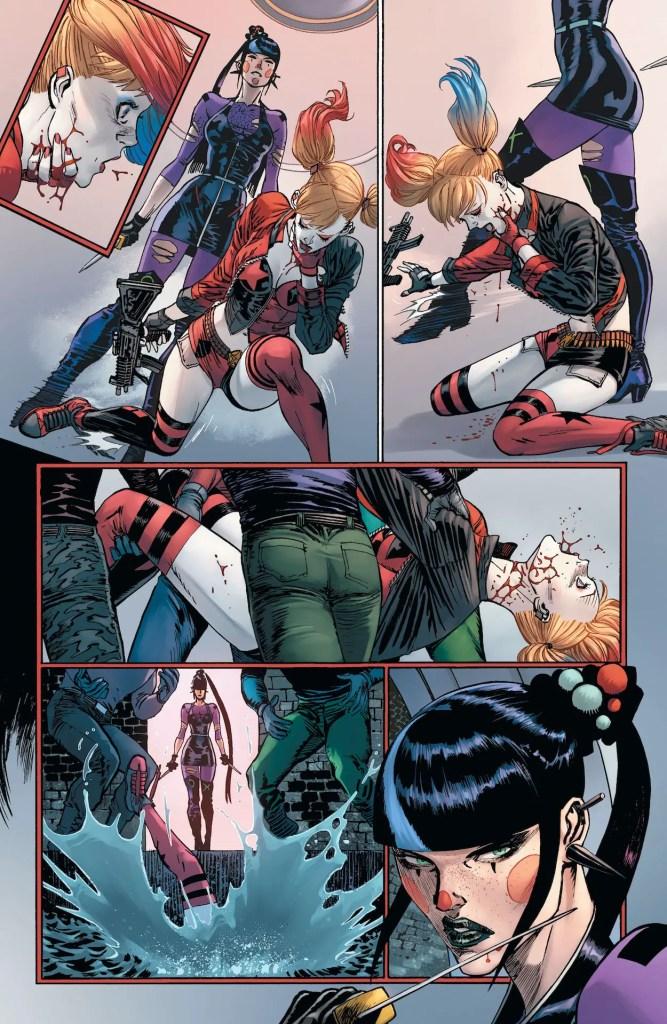 DC Preview: Batman #93 - Punchline vs. Harley Quinn, round one!