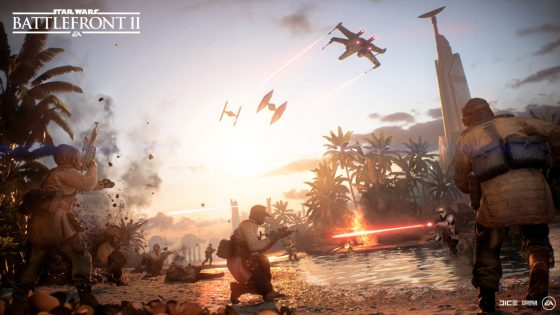 Star Wars Battlefront II - Battle of Scarif