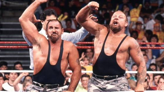 Bushwhackers - Wrestling Hall of Famers