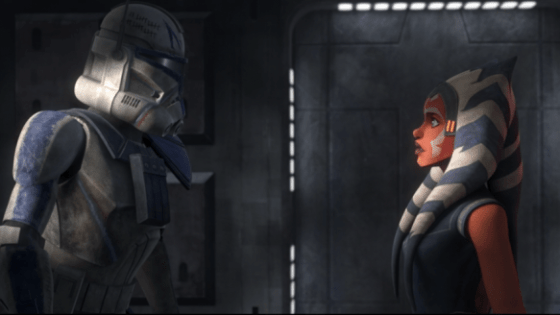 Clone Wars: Rex and Ahsoka