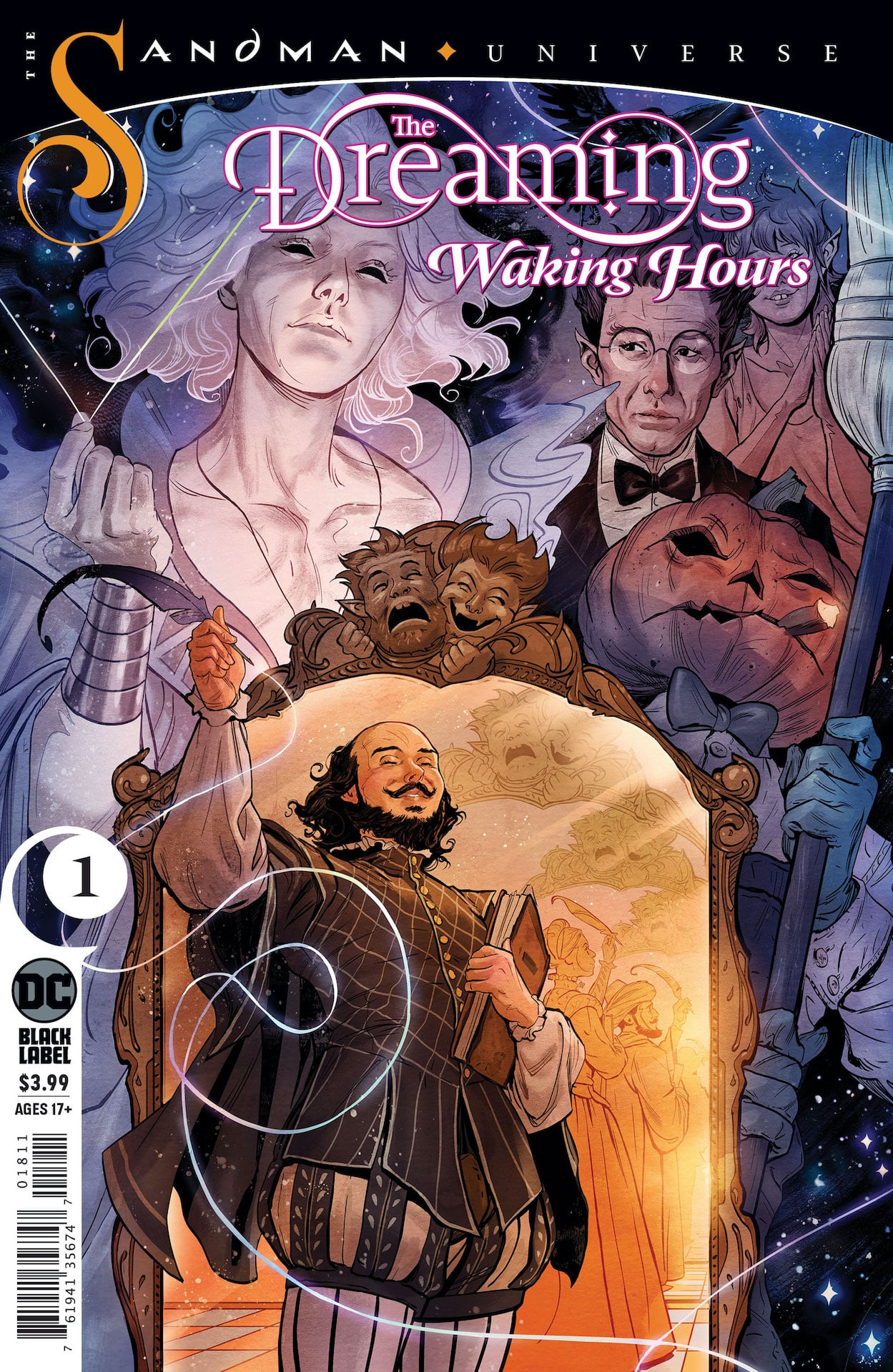 'The Dreaming: Waking Hours' #1 review: An elegant mix of sophisticated storytelling