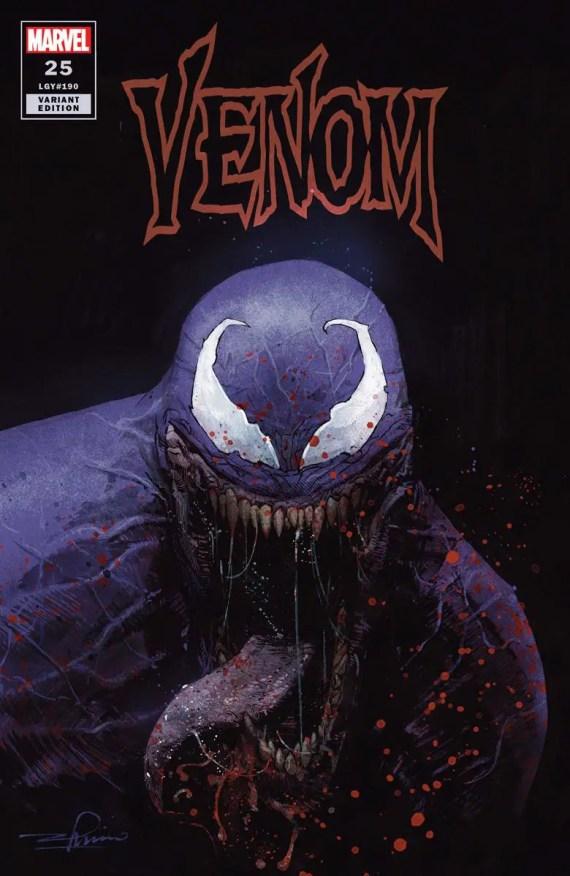 Venom #25 variant cover