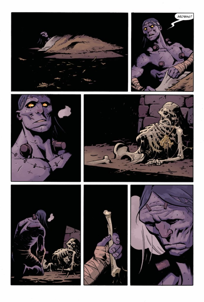 Dark Horse Preview: Frankenstein Undone #2