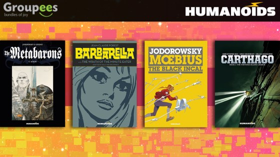 Support the Hero Initiative with limited time Humanoids digital comics bundle through May 20