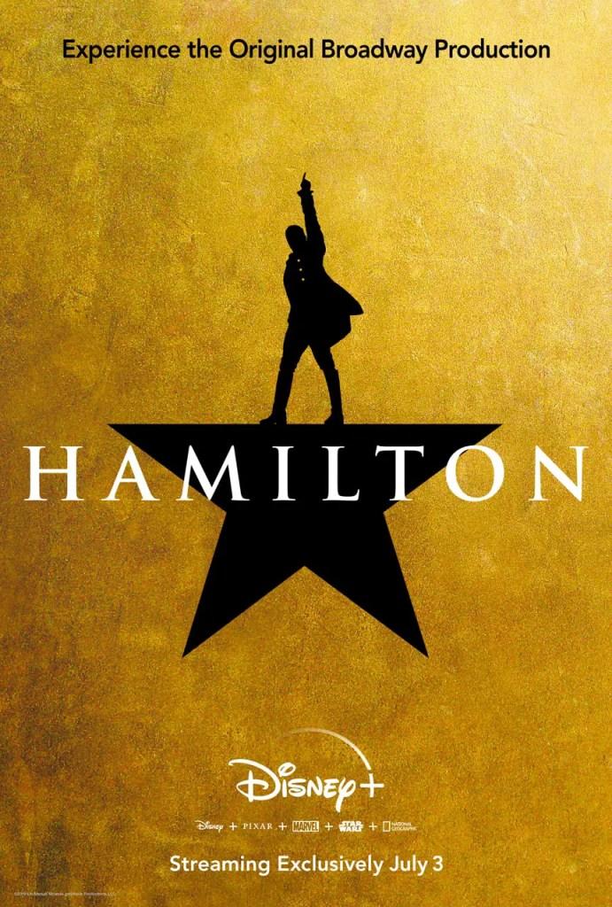 Hamilton streaming soon