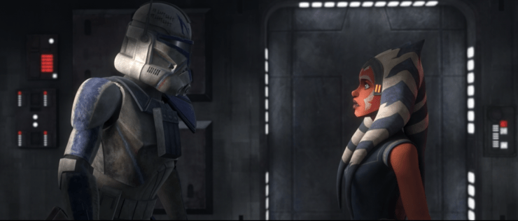 Clone Wars: Rex and Ahsoka have a reckoning