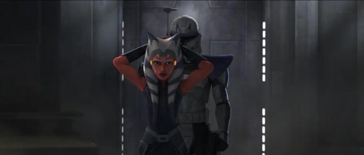 Clone Wars: Rex and Ahsoka's gambit