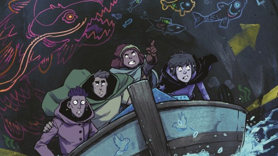 Get a look at three covers to BOOM! Studios' upcoming limited series Wynd.