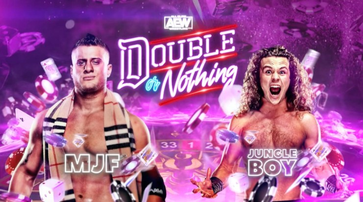 AEW Double or Nothing - MJF vs. Jungle Boy