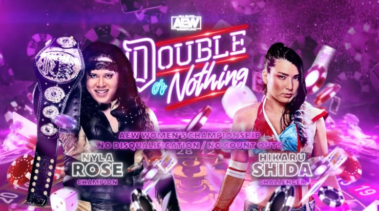 AEW Double or Nothing - Nyla Rose vs. Hikaru Shida