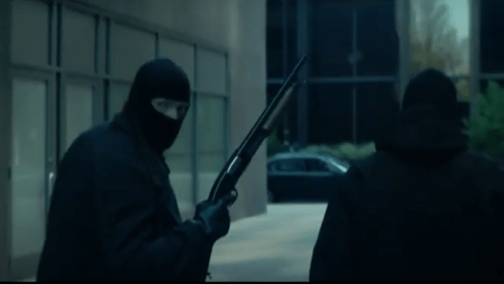 'Among Them' takes heist flicks in a more frightening direction.