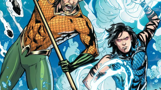 Aquaman and Tempest race to stop an enraged monster that has escaped its magical tomb under the city of New York.