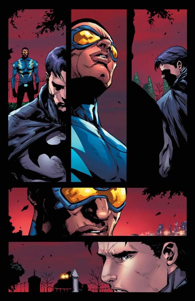 Batman gets emotional